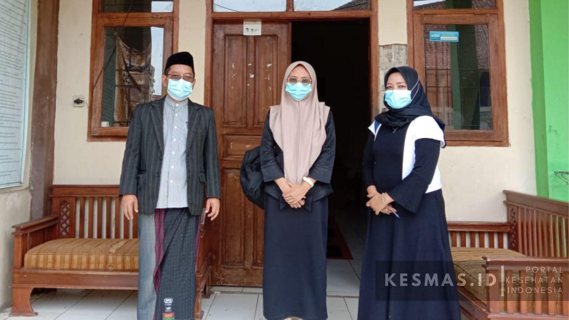 Puskesmas Salawu Lakukan Inspeksi Kesehatan Lingkungan di Ponpes Al-Manshyuriah