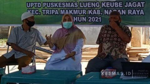 UPTD Puskesmas LKJ Laksanakan MMD di Alue Sapek Tripa