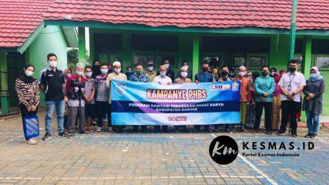 Kampanye PHBS Program Sanitasi Perdesaan Padat Karya Kab Banjar