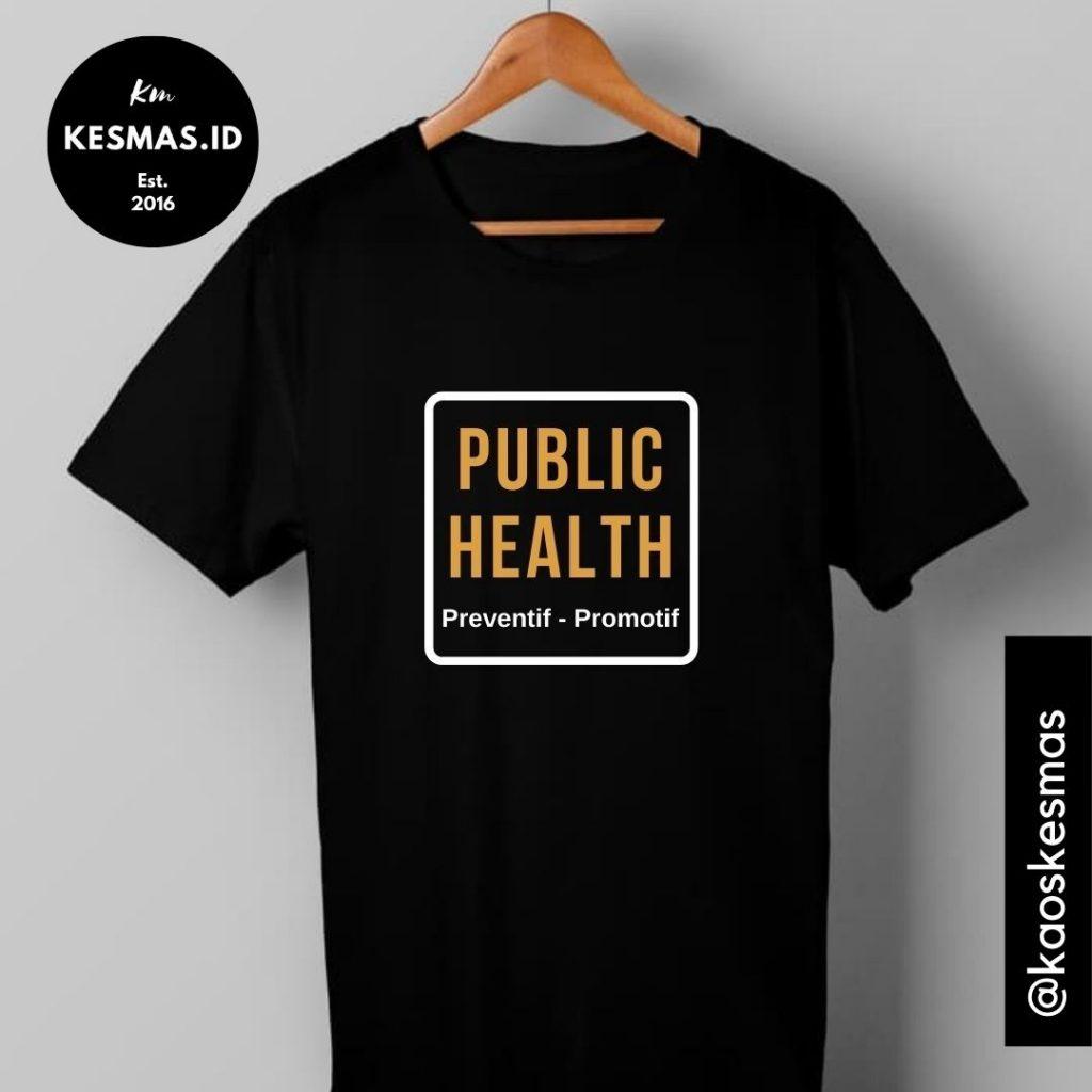 Kaos Public Health Hitam