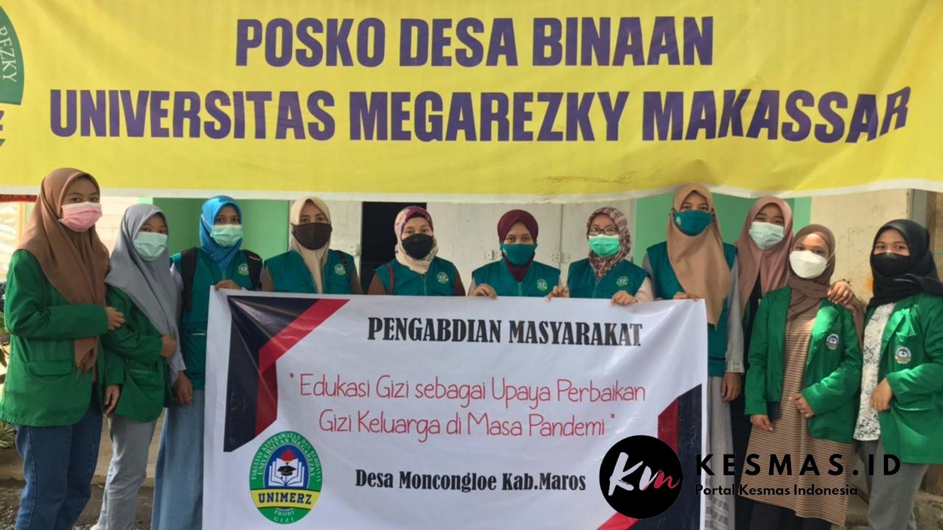 Pengabdian Masyarakat Prodi S1 Gizi Universitas Megarezky Makassar di Kabupaten Maros