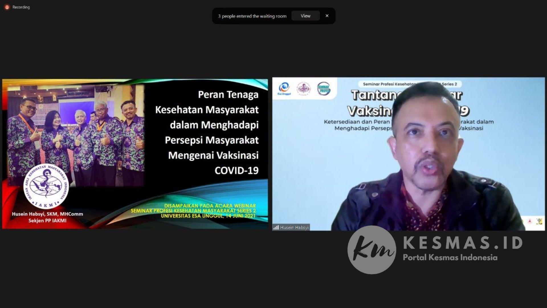 Tantangan Besar Vaksinasi Covid-19 di Indonesia